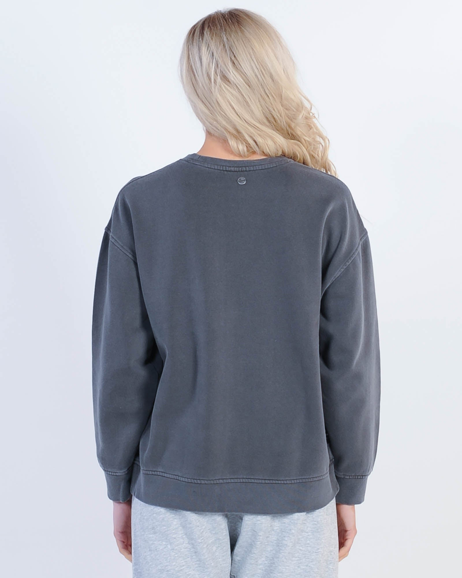 All About Eve Eve Washed Crew Sweat - Washed Black