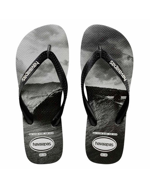 94a02565e7c5 Havaianas Photoprint Mentawais Thong - Black White