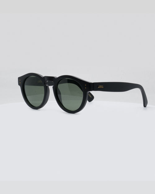 Local Supply Freeway Sunnies - Black Bottle