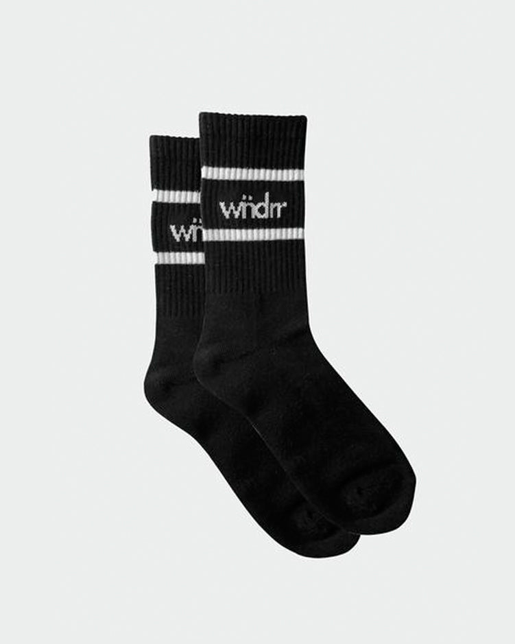 Wndrr Accent Socks 3 Pack - Black