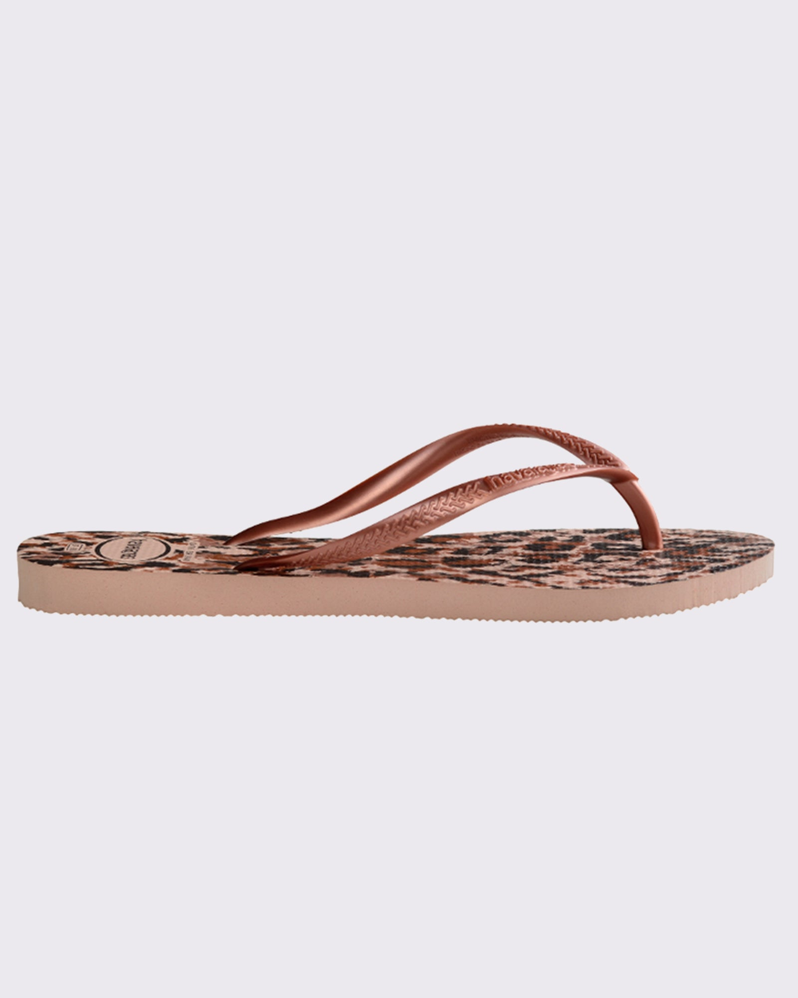 Havaianas Slim Animals Thong - Ballet Rose