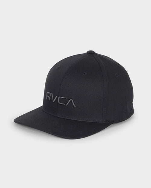 Rvca Flexfit Cap - Black