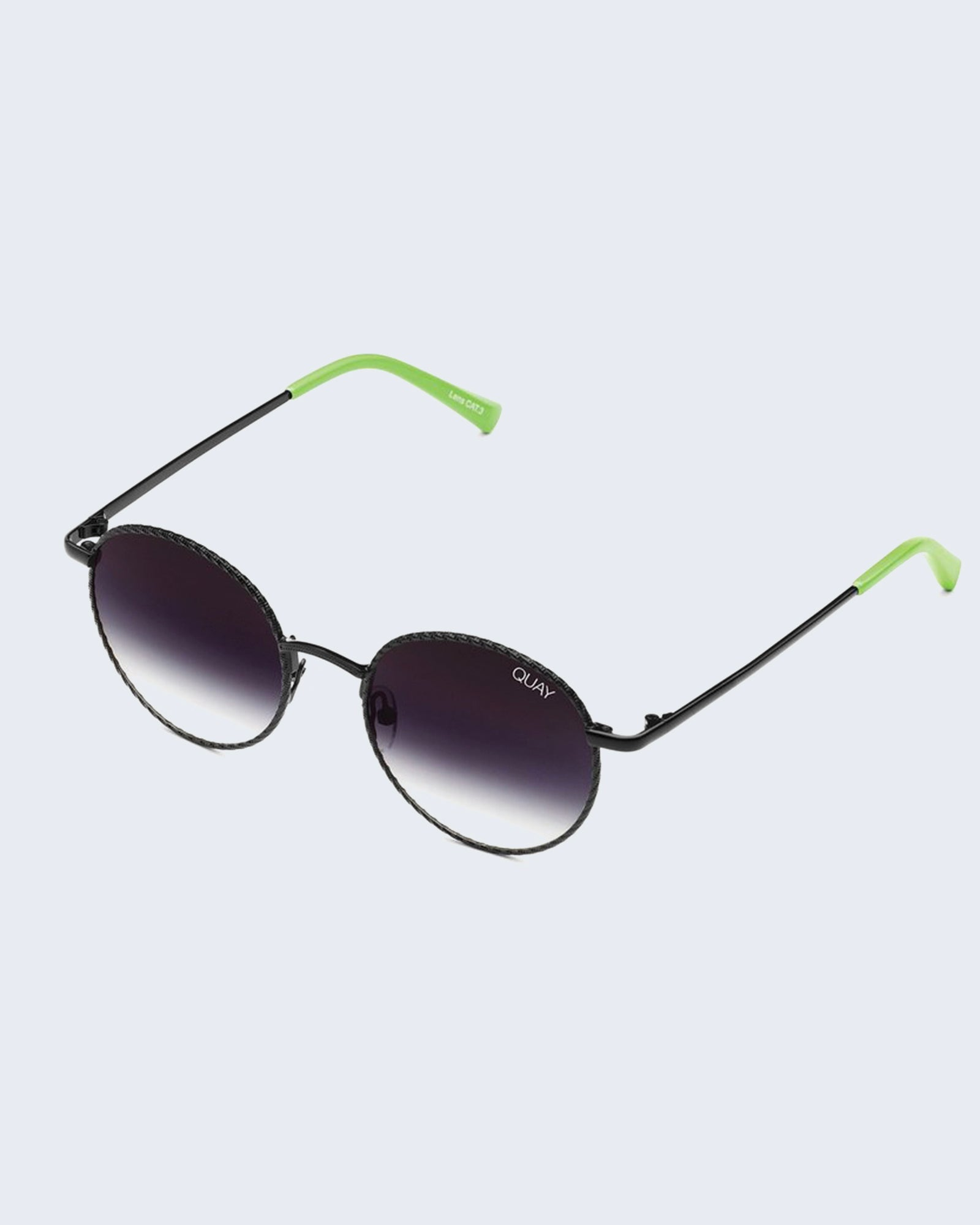 Quay I See You Sunnies - Black/Fade