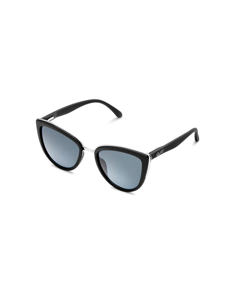 QUAY QUAY MY GIRL SUNNIES - BLACK/SMOKE