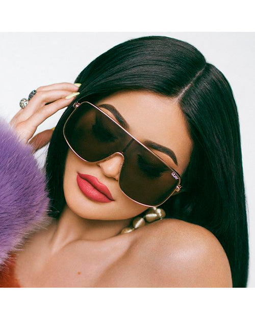 Quay Unbothered Sunnies - Gold/Brown