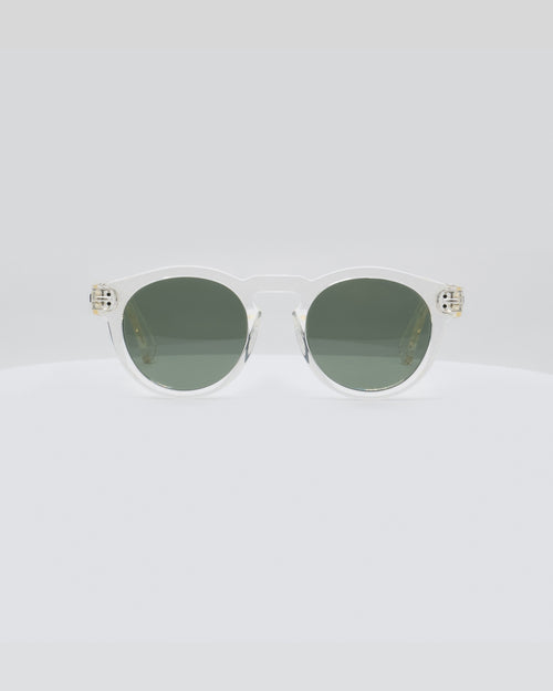 Local Supply Freeway Sunnies - Clear Bottle