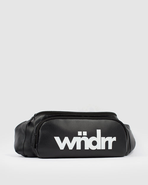 Wndrr Accent Sling Bag - Black Pu