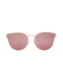QUAY ALL MY LOVE SUNNIES - ROSE GOLD/PINK