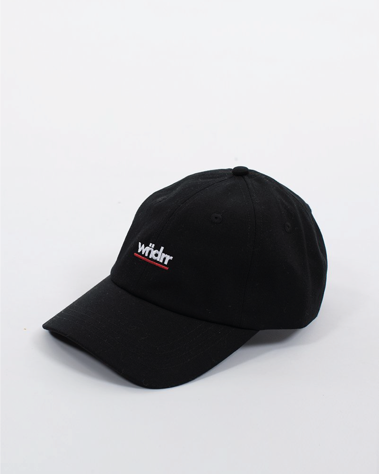 Wndrr Mirage 6 Panel Cap - Black