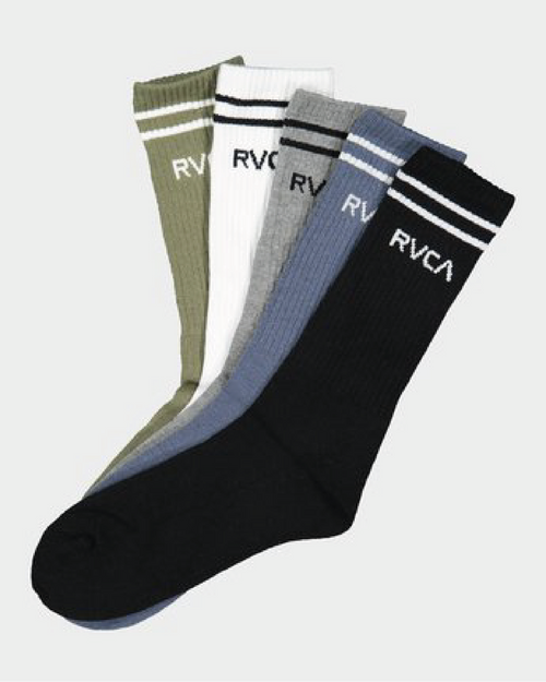 Rvca Union 5 Pack Socks - Multi