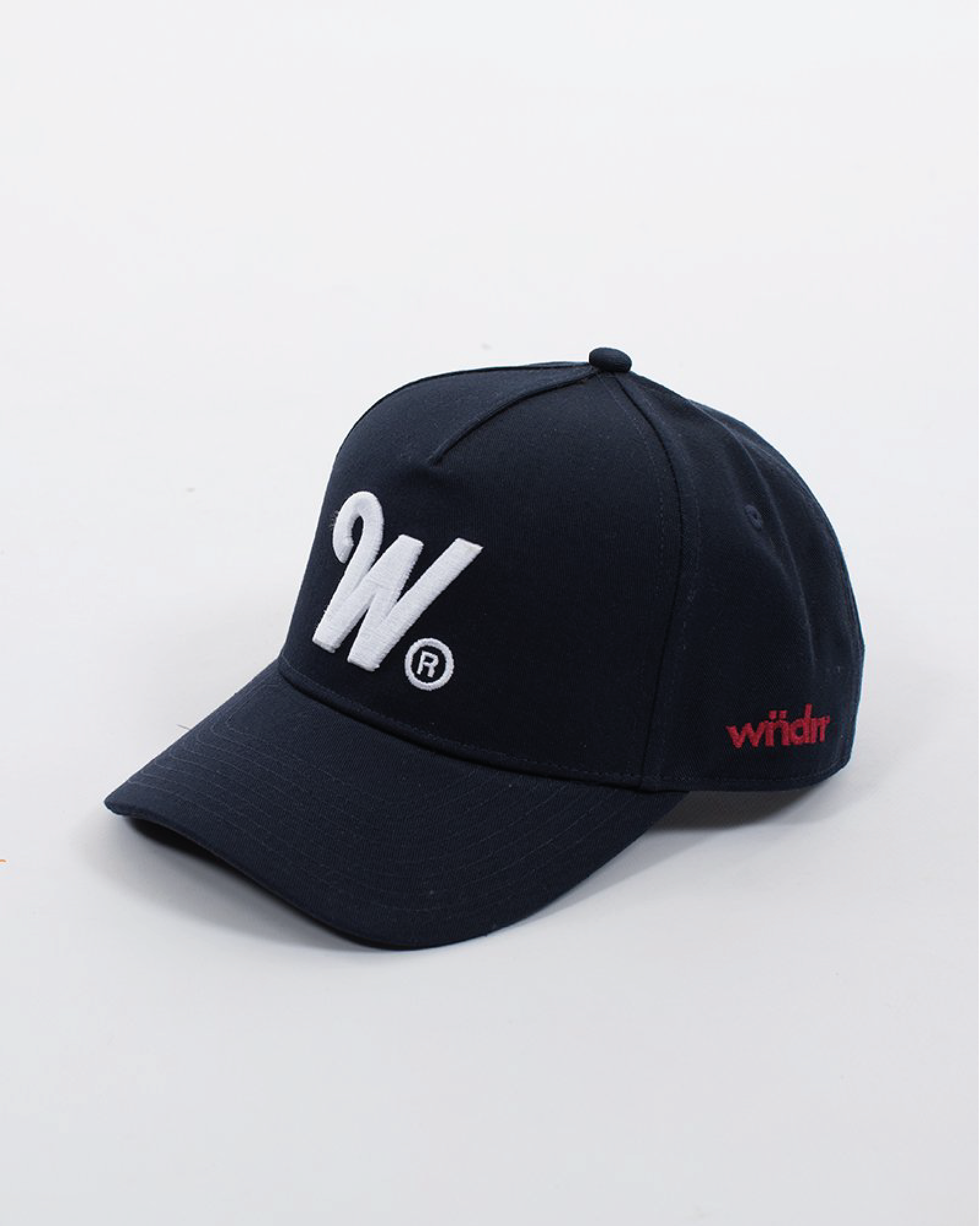 Wndrr Phillips Snapback Cap - Navy/White