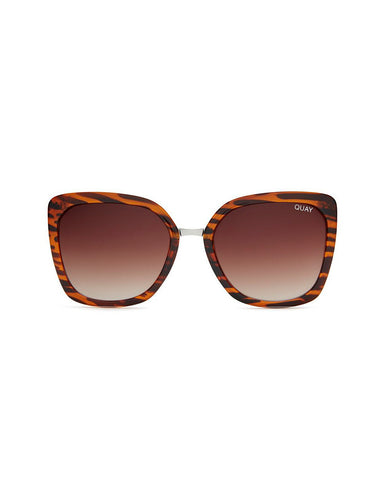 QUAY CAPRICORN SUNNIES - TORT/BROWN LENS