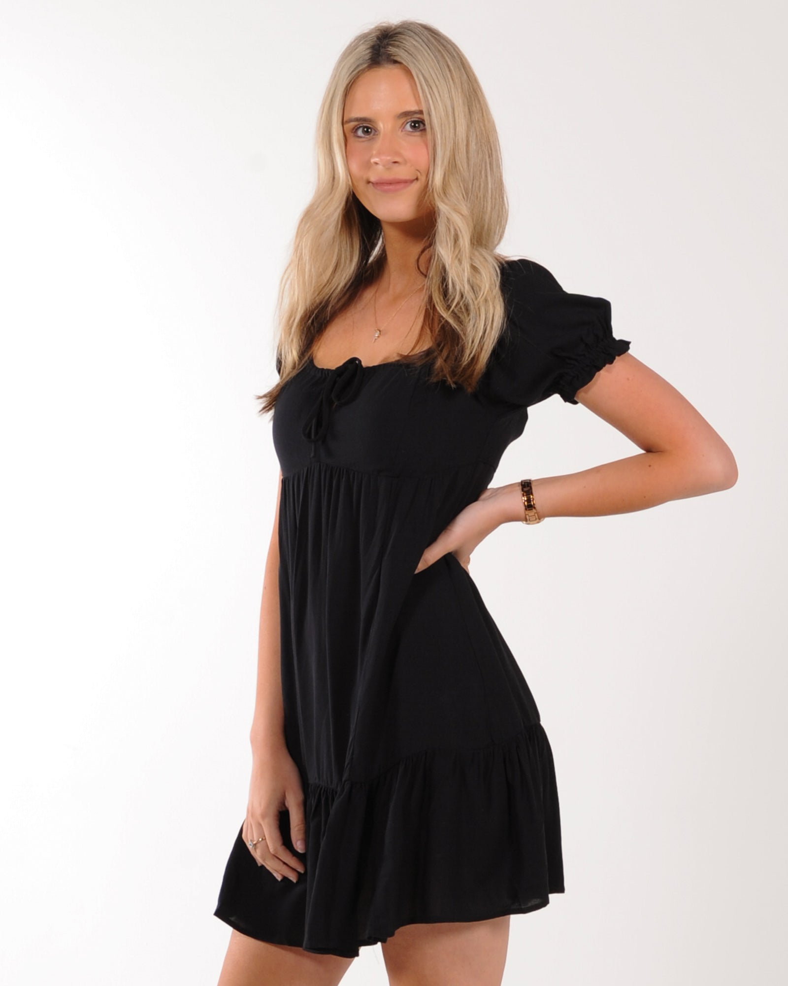 All About Eve Frida Mini Dress - Black