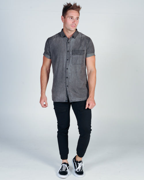 ST. GOLIATH RAZO S/S SHIRT - BLACK