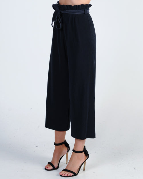 Promise Made Pleated Pant - Navy