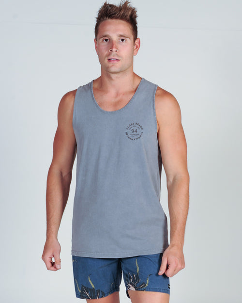 GLOBE NINEFOUR TANK TOP - SNOW DUST