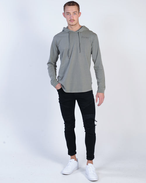 Silent Theory Nyc Hooded Tee - Militant