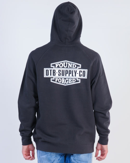 Dtb Supply Harley Hood Sweat - Coal