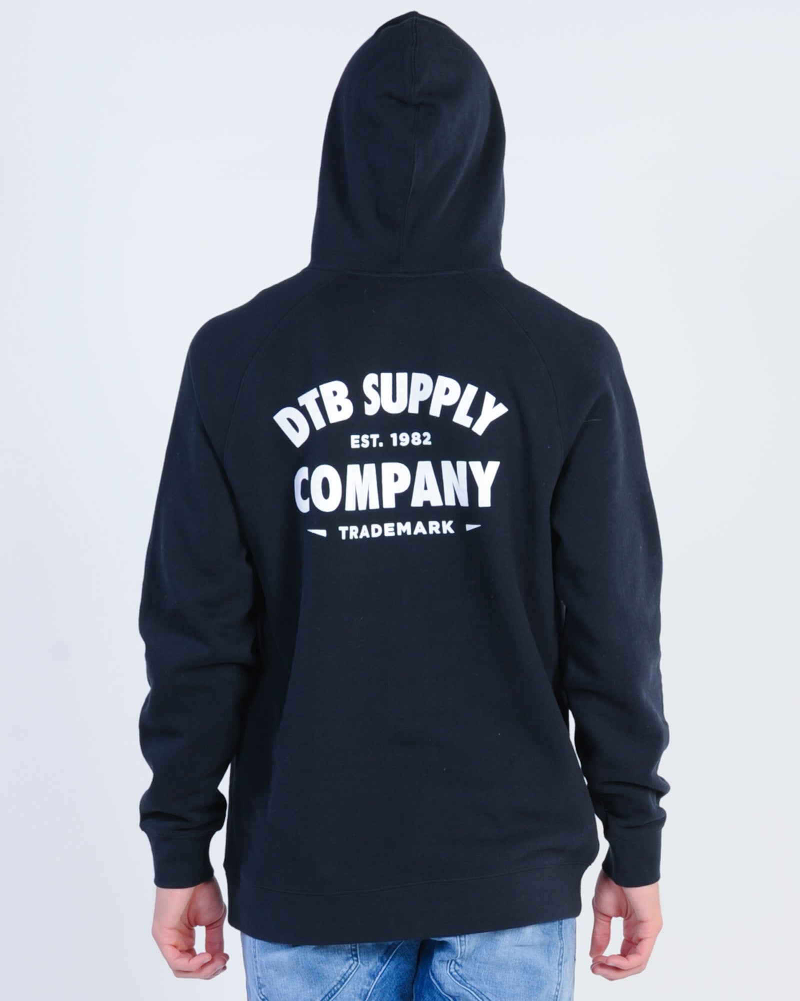 Dtb Supply Smith Hood Sweat - Navy