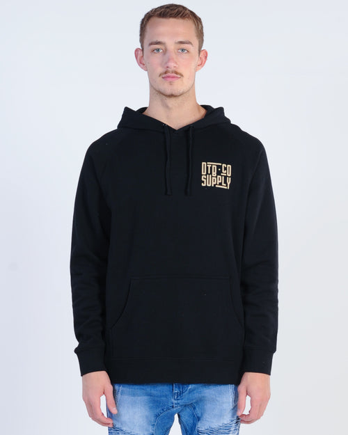 Dtb Supply Subway Hood Sweat - Black