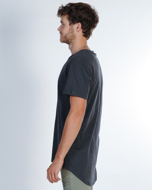 SILENT THEORY PRAXIS TEE - CHARCOAL