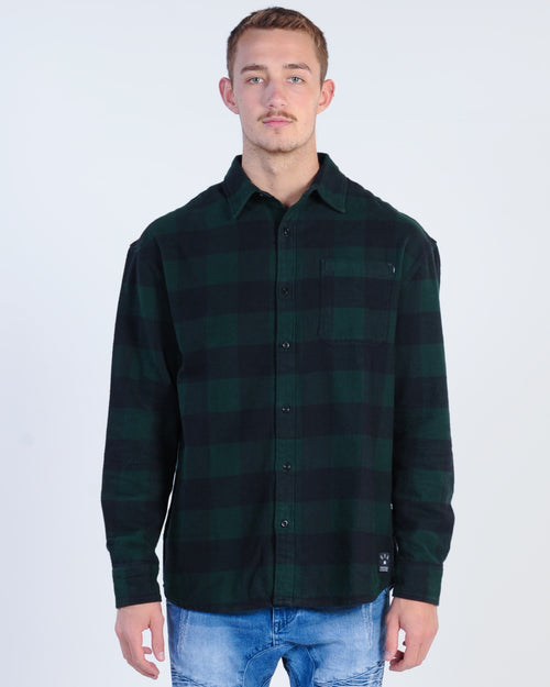 St. Goliath Mcconville L/S Shirt - Green