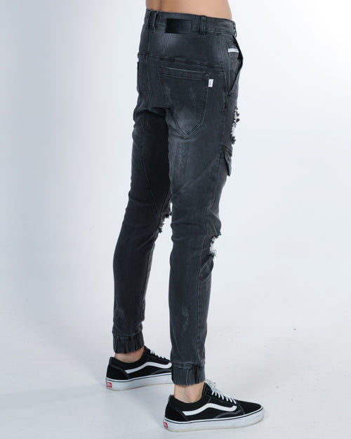 Nena & Pasadena Flight Pant - Broken Black