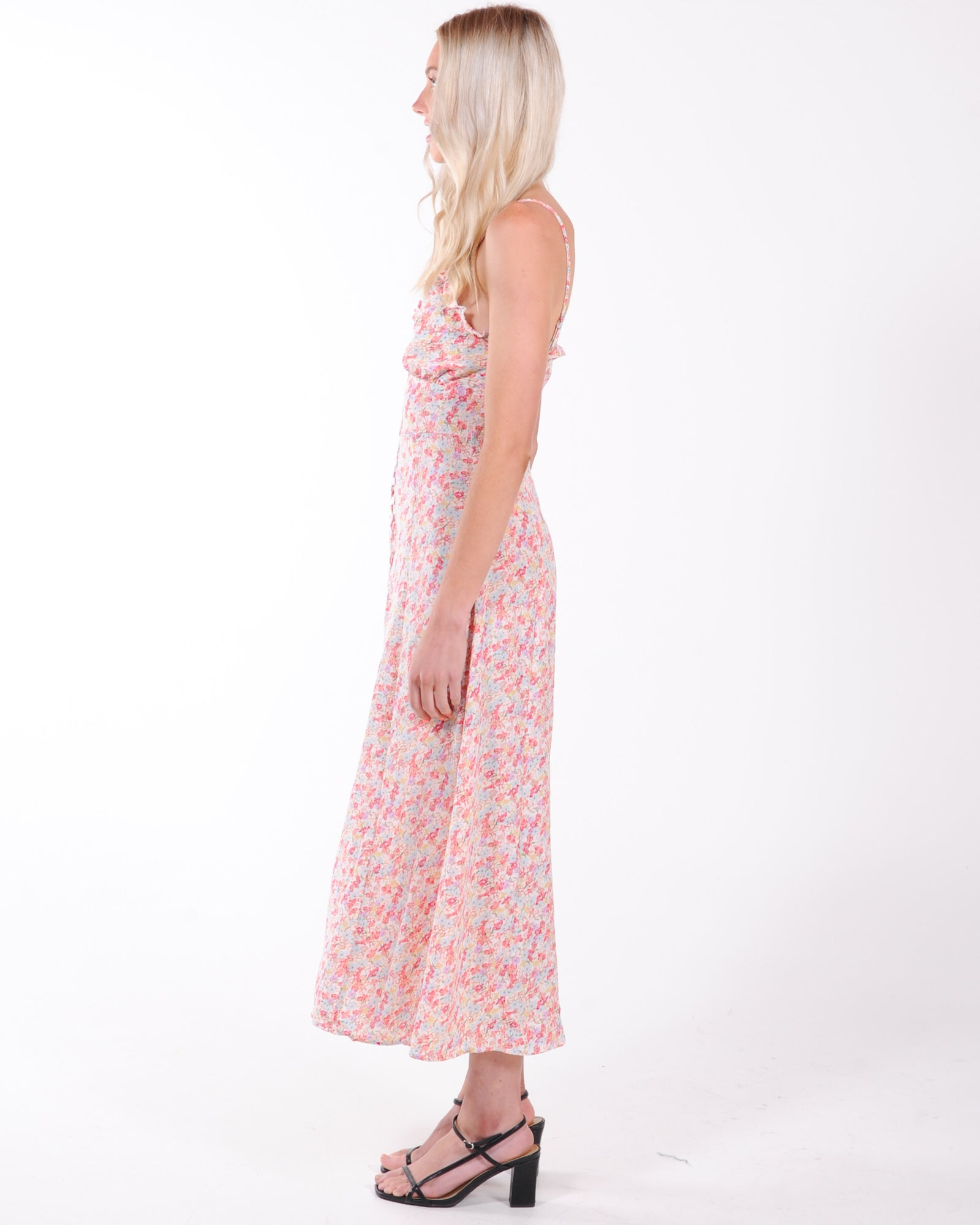 Date Night Midi Dress - Multi