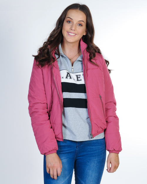 All About Eve Rosa Puffer Jacket - Rouge