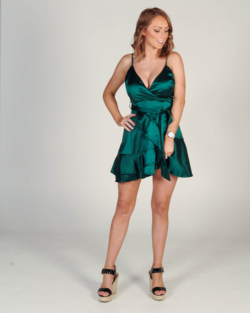 Girls Game Dress - Jade
