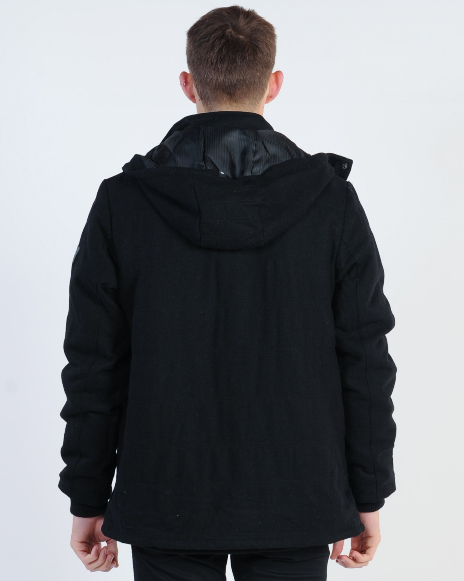 St. Goliath Colonel Hooded Jacket - Black