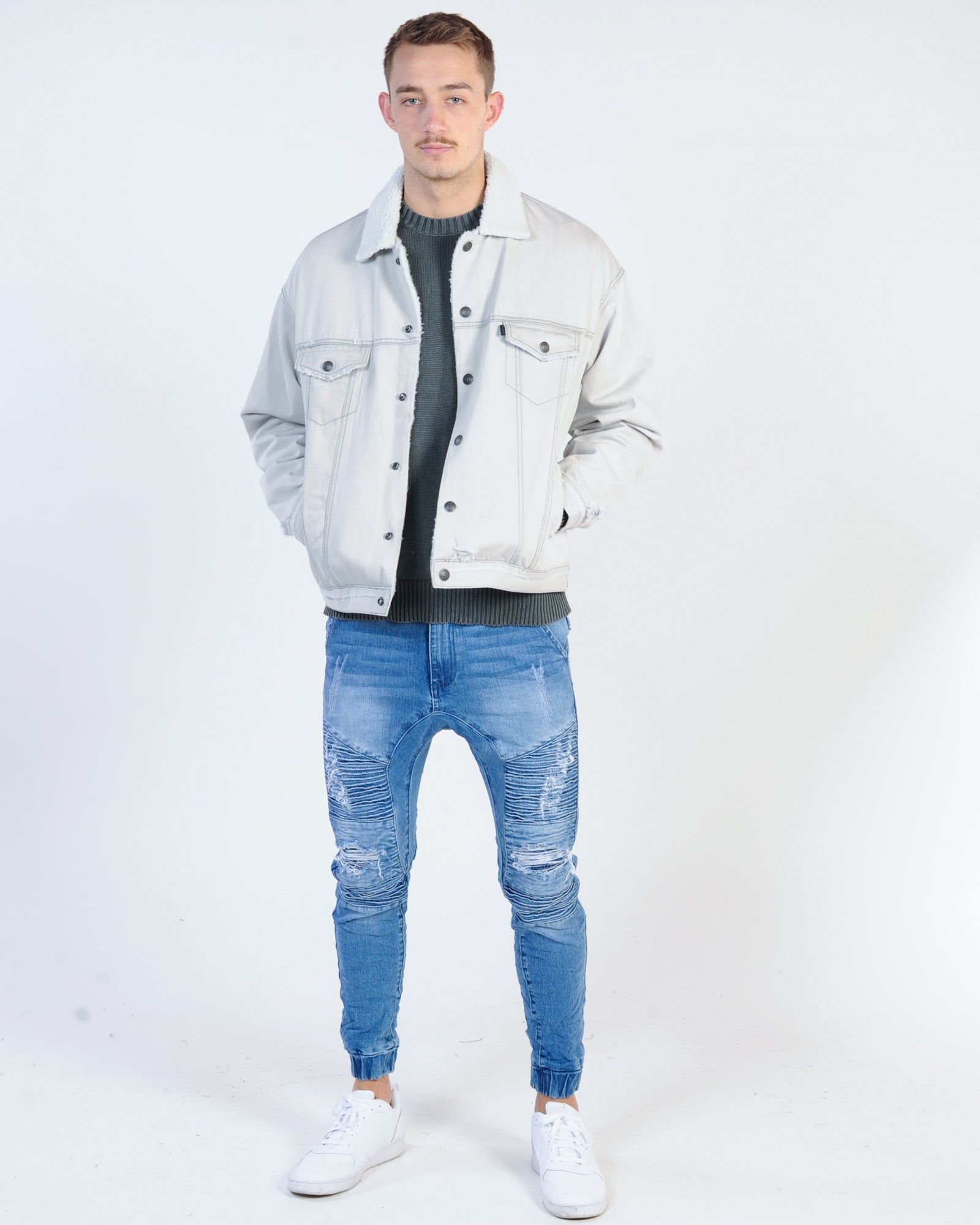 Silent Theory Division Sherpa Jacket - Drizzle