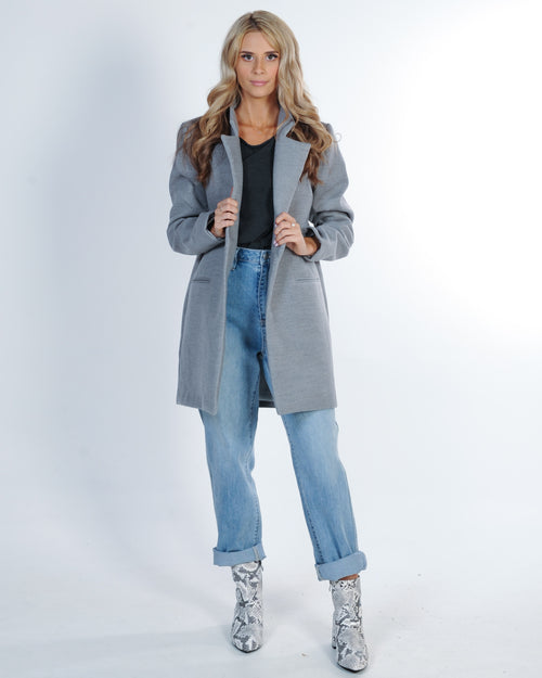 The Fifth Label Go To Coat - Grey Marle