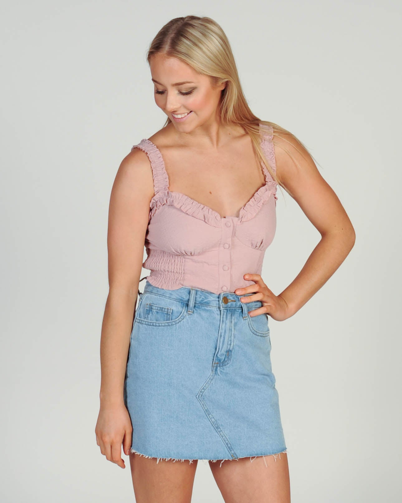 Babe Top - Pink