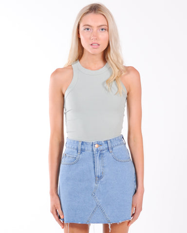 Madison Skivvy Top - Wine