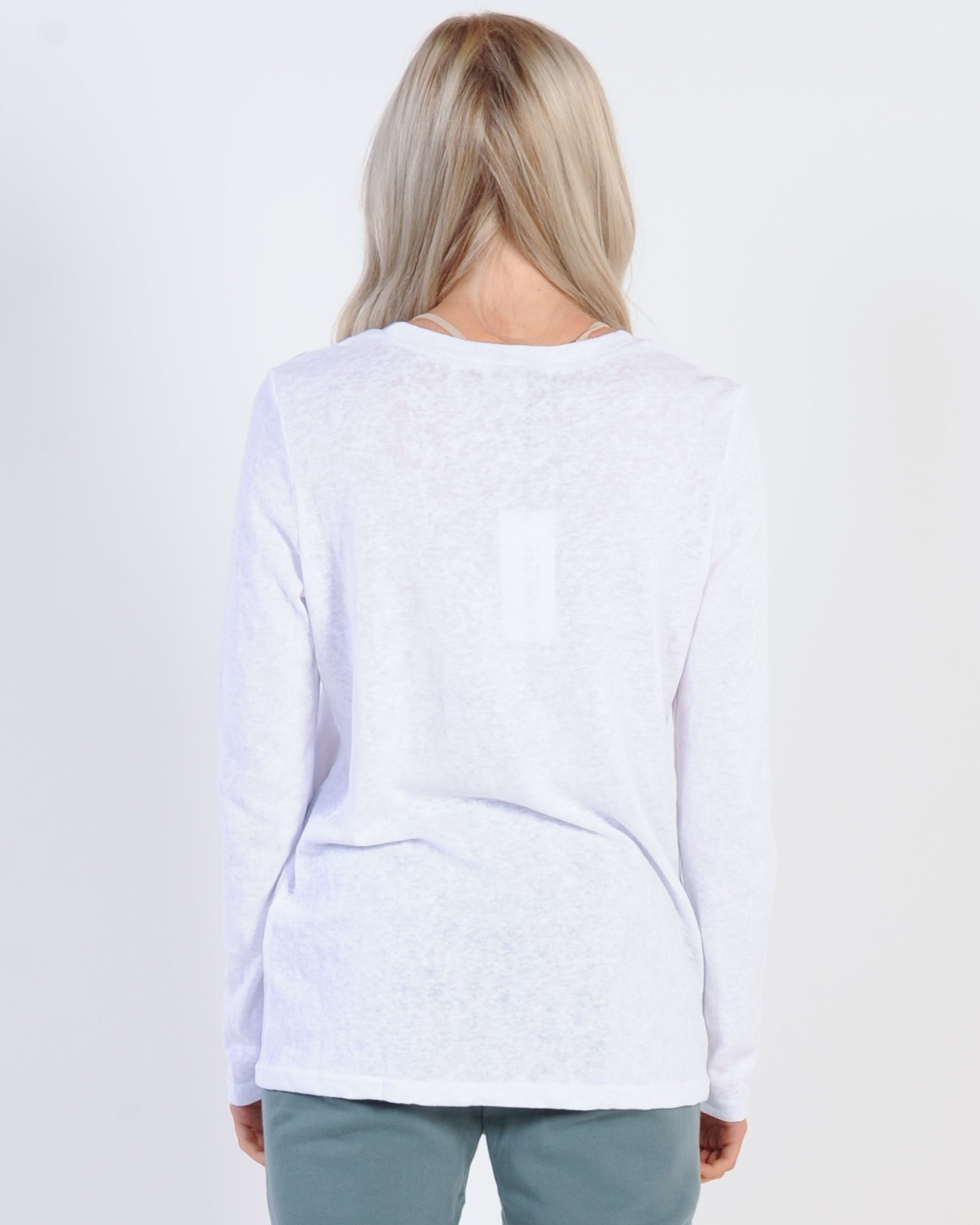Madison The Label Madison L/S Top - White/White