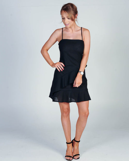 TIME TO PARTY DRESS - BLACK