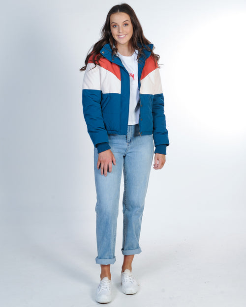 All About Eve Rapid Panel Puffer Jacket - Marine