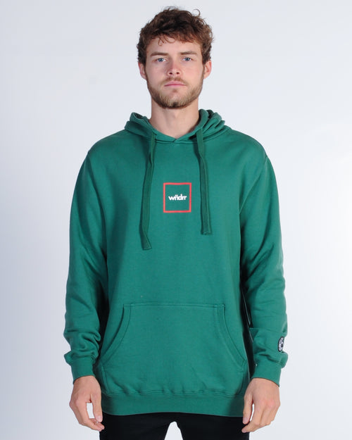 Wndrr Radar Hood Sweat - Forest Green