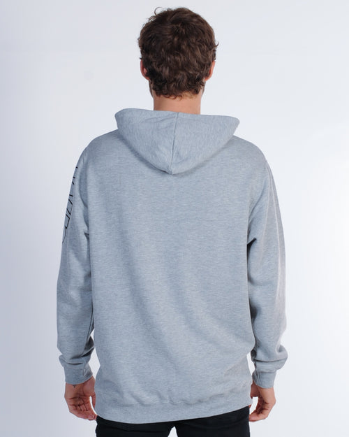 Wndrr Undefeated Hood Sweat - Grey Marle