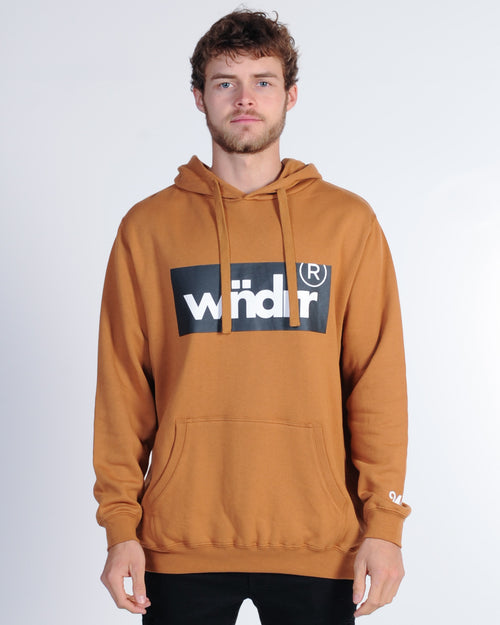 Wndrr Ministry Hood Sweat - Almond