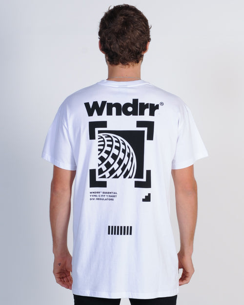 Wndrr Booster Custom Fit Tee - White