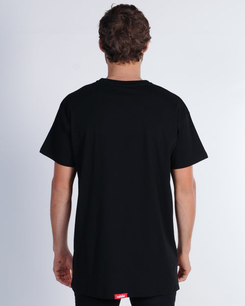 Wndrr Departure Custom Fit Tee - Black