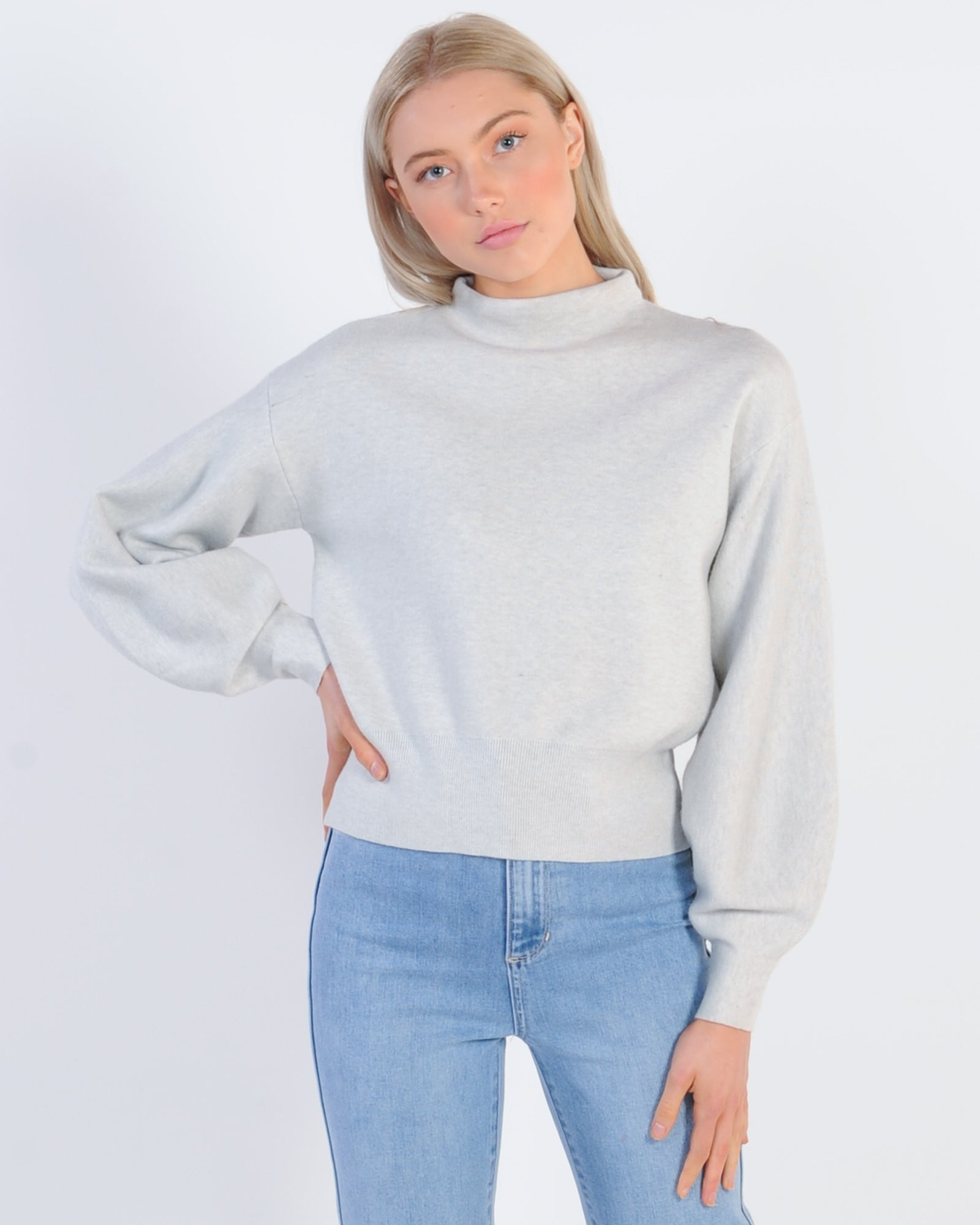 Close To You Knit Jumper - Grey