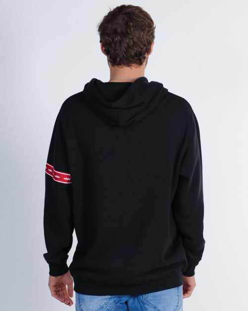 Wndrr Phillips Hood Sweat - Black