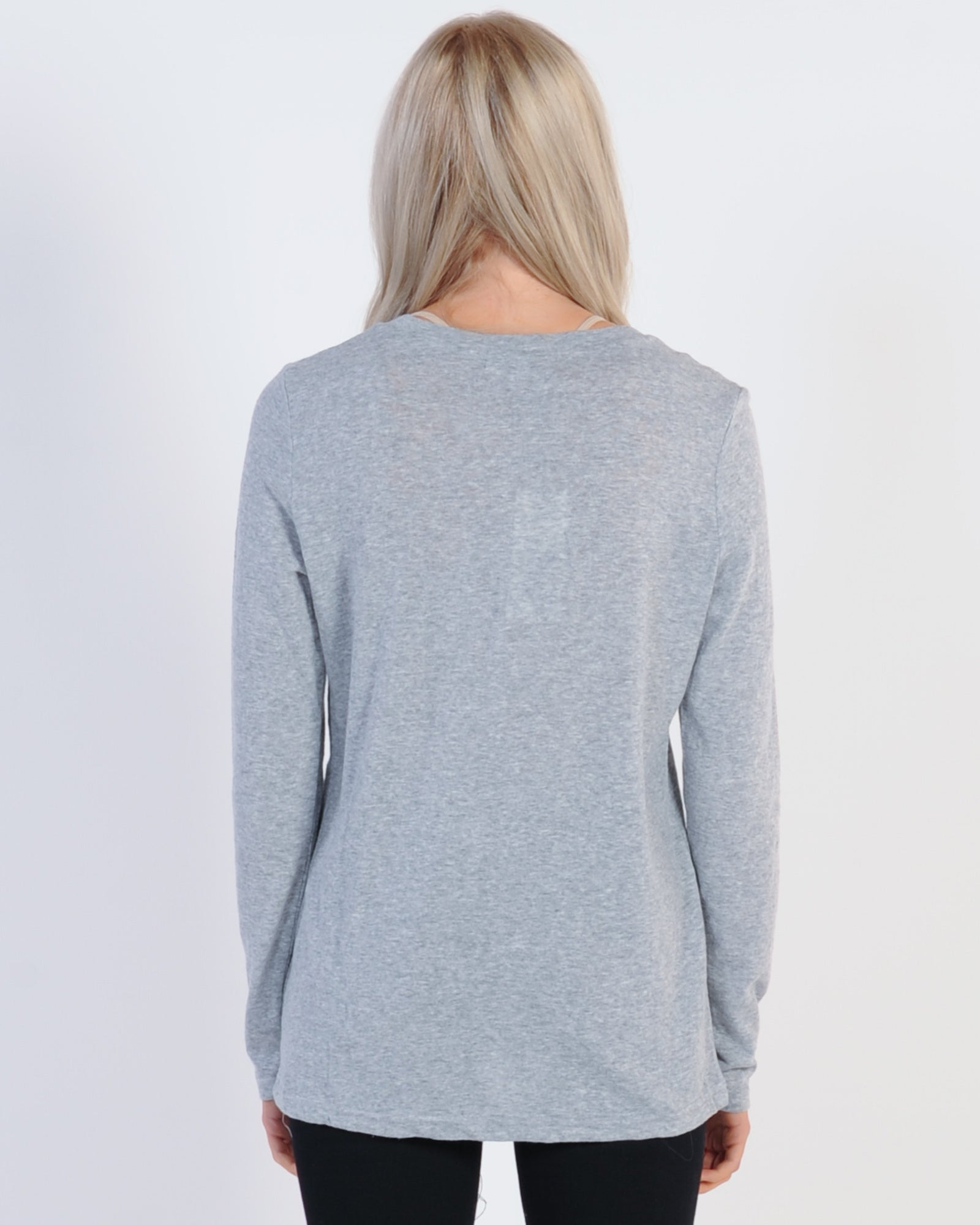 Madison The Label Madison L/S Top - Grey