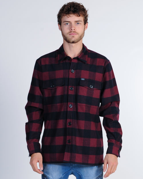 Academy Oregon Check Jacket - Red