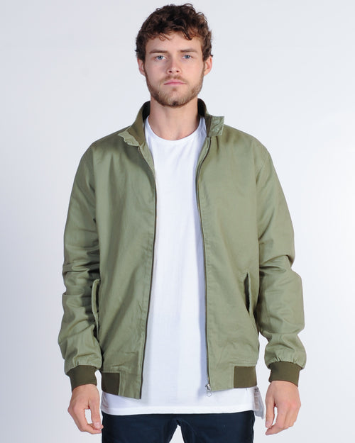 Academy Dean Jacket - Light Army