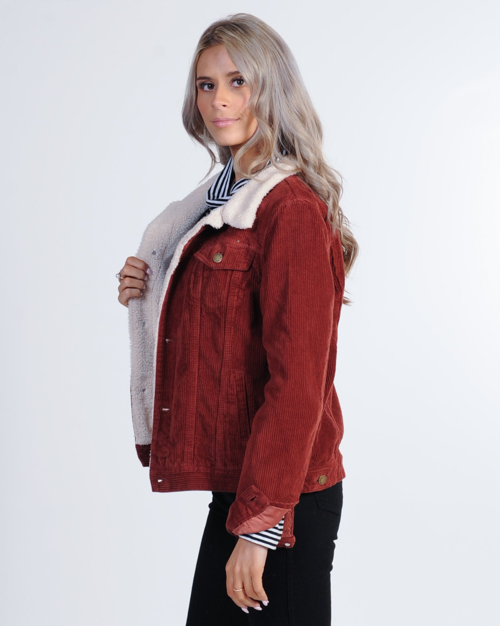 3e25f1945ef9 Thrills Bianca Cord Jacket - Blood Red – New Generation Clothing