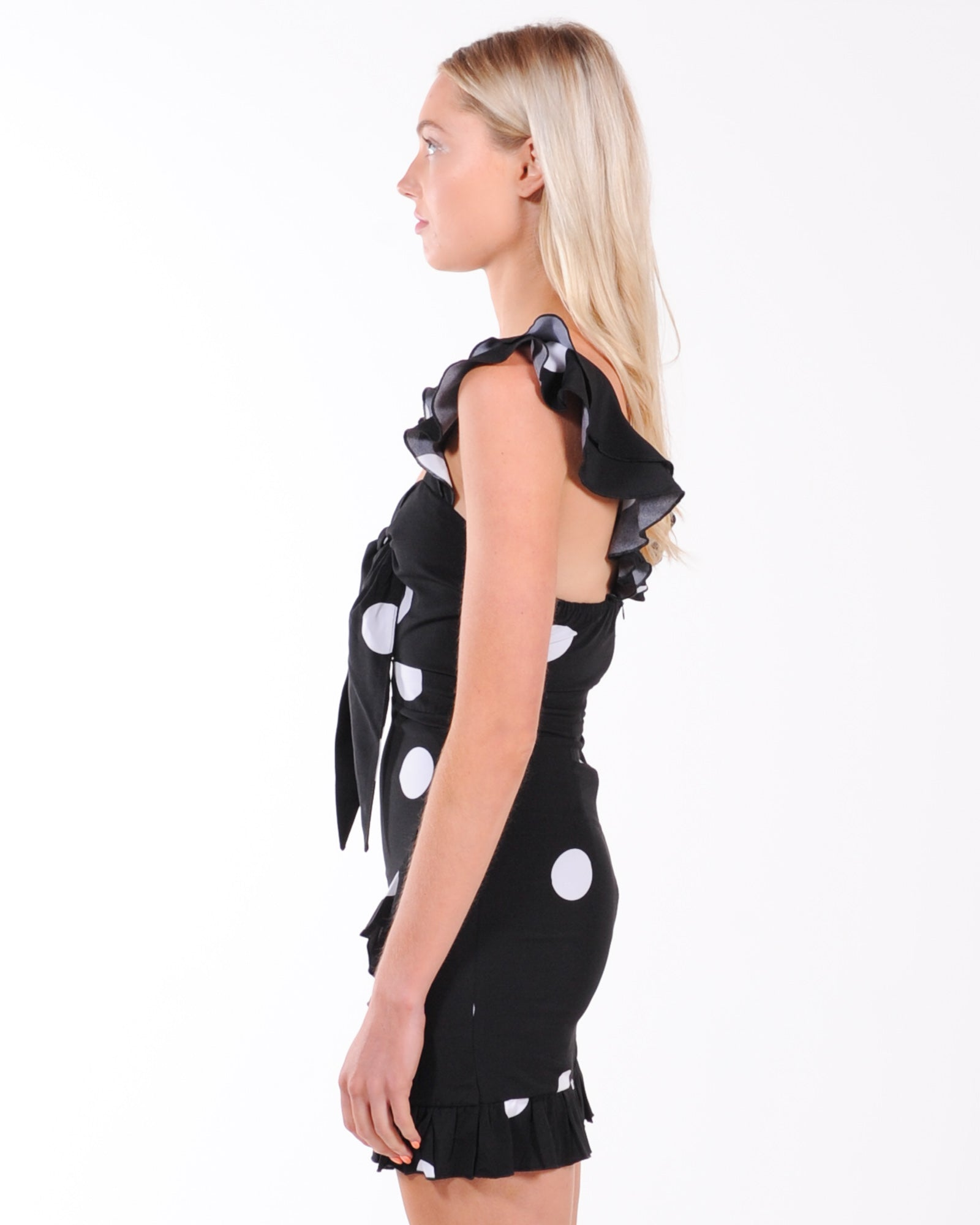 Sndys Morocco Dress - Black Dot